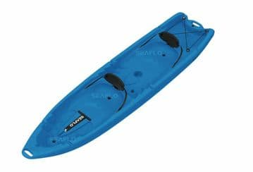 SIT ON TOP FAMILY KAYAK 2 ADULTS + 2 CHILDREN (SF-4001) BLUE canoe water sport